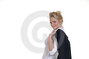 Eine Nette Frau In Ihrer Erholungszeit Lizenzfreies Stockbild - Bild: 7988766