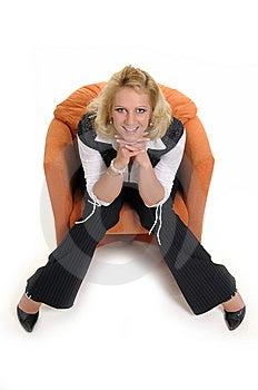 Czas Jej ładna Rekreacyjna Kobieta Fotografia Stock - Obraz: 7988982