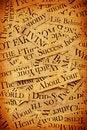 News paper text Royalty Free Stock Photos