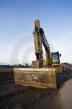 Bulldozer At Rest Stock Image - Image: 7990261