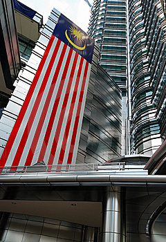 Petronas Towers Stock Image - Image: 7990311