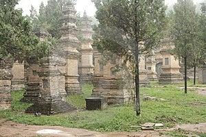 Shaolin Monk's Tomb Royalty Free Stock Photo - Image: 7990895
