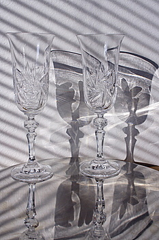 Ground Glass With Shadow Royalty Free Stock Photos - Image: 7991308