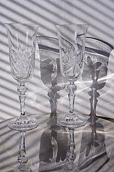 Grondglas Met Schaduw Royalty-vrije Stock Foto's - Afbeelding: 7991308