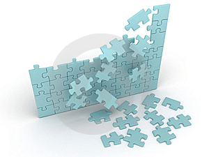 Puzzle Stock Photo - Image: 7992300