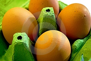 Eggs In An Egg Box Stock Photography - Image: 7993132