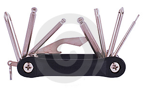 Steel Bike Repait Kit Stock Photography - Image: 7993172