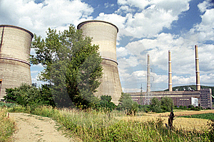 Thermo Power Plant Royalty Free Stock Photos - Image: 7995248