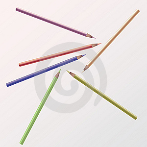 Colored Pencils Royalty Free Stock Photo - Image: 7995355