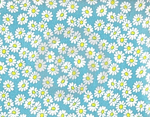 Daisy background.