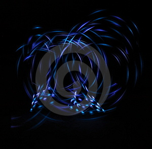 Neon Lights In The Dark Stock Photography - Image: 7996742