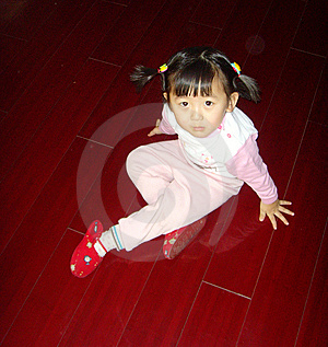 Chinese Lovely Girl Stock Photography - Image: 7997272