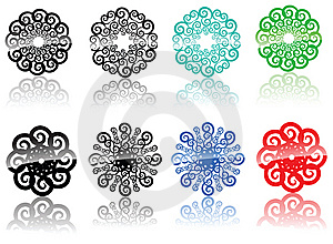 Backgroung Design Elements Royalty Free Stock Photography - Image: 7997327