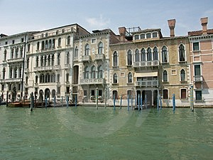 On The Grand Canal Stock Images
