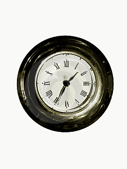 Old Clock 1 Royalty Free Stock Image