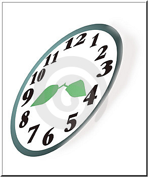 Natures Clock Stock Image