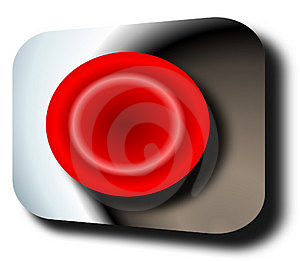 Panic Button Free Stock Photography