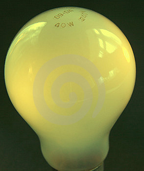 Yellow Bulb Stock Photography