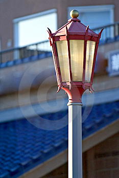 Chinese Street Lamp Free Stock Photography