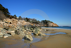 Singing Beach Royalty Free Stock Image