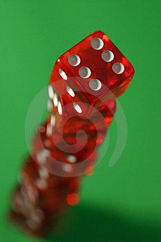 The Tower Of Dices Stock Images