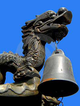 Dragon Bell Stock Image