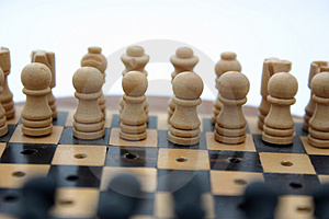 Chess Set Free Stock Images