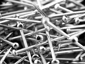 Pins Royalty Free Stock Photos