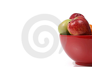 Bowl of apples II Stock Photography