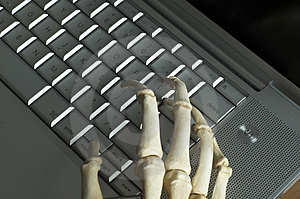Skeletal Hands Free Stock Photo