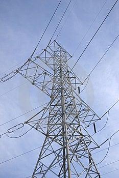 Power Lines Free Stock Photo