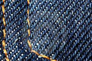 Denim - Close-up Of A Pocket Stock Photos