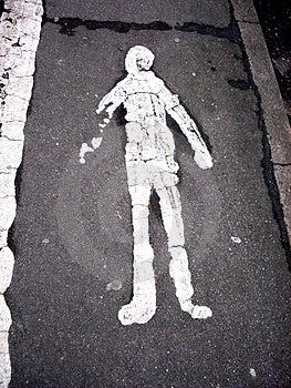 Pathway Man Free Stock Image