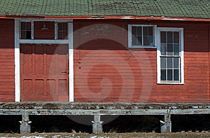 Old Rail Dock Free Stock Photo