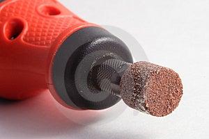 Burring Tool Stock Image