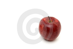 Red Apple 2 Stock Image