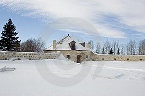 Stone Roundhouse Free Stock Image