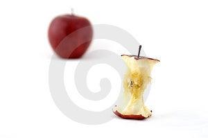 Apple Core Free Stock Photo