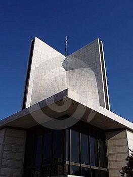 Ουρανός Cathredral Στοκ εικόνα με δικαίωμα ελεύθερης χρήσης
