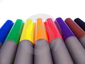 Markers Free Stock Images