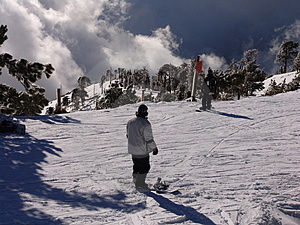 Snowboarders Fotografia de Stock Royalty Free