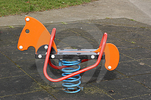 Bouncy Ride Stock Photo