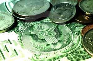 American Money 2 Free Stock Photography