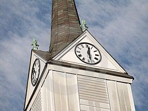 Башня часов Стоковое Изображение RF