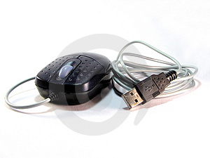 Mouse With Usb Stock Images