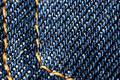 Denim - close-up of a pocket Stock Photos