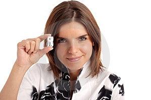 Gambling Girl Stock Images - Image: 806474