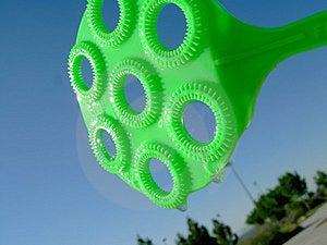 Bubbles Blower Stock Image - Image: 809801