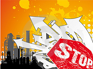Stop Industry Stock Images - Image: 8001064
