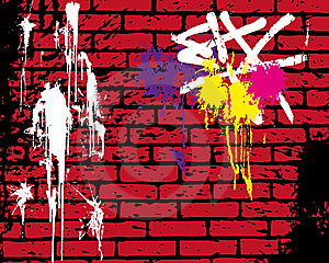 Brickwall Stock Image - Image: 8001391